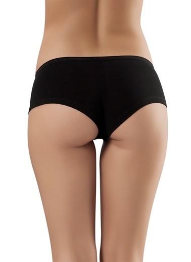 Obje Cotton Mini Short Siyah